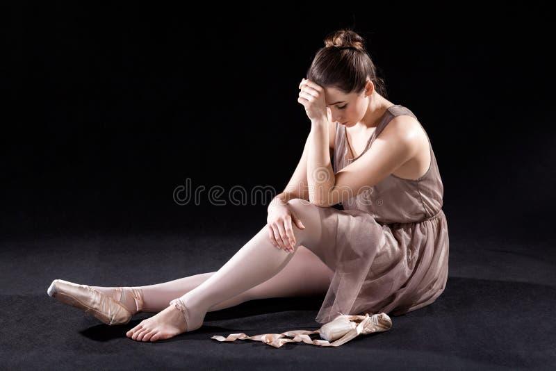 Danseur frustrant images libres de droits