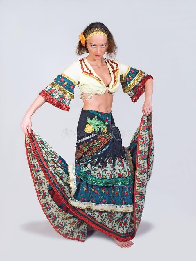 Danseur gitan images libres de droits