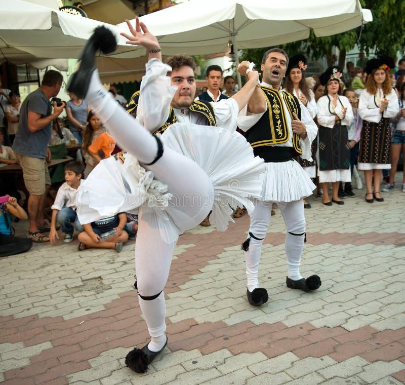 Danseur grec photo libre de droits