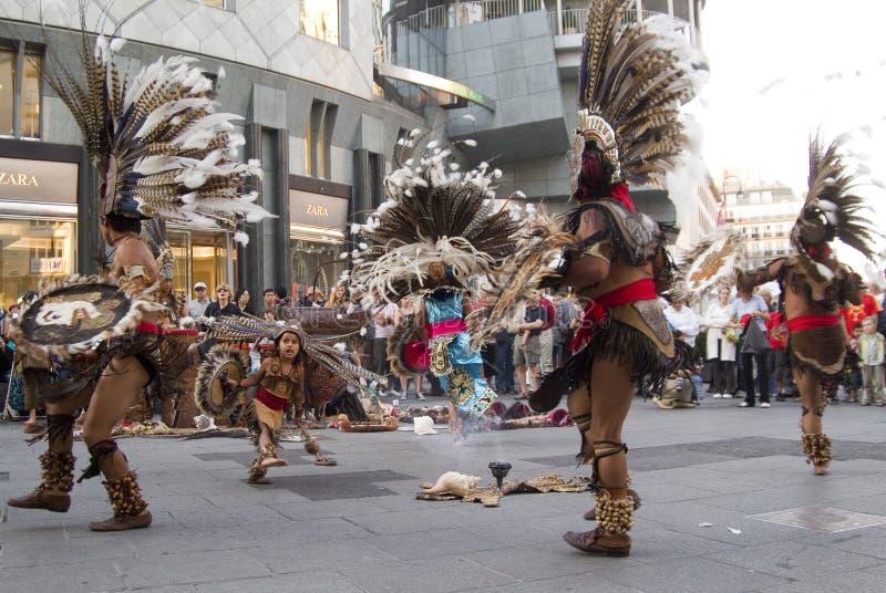 Danseur indien mexicain image stock