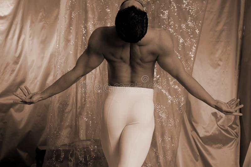 Danseur mâle image stock