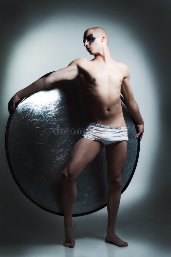 Danseur mâle beau images libres de droits