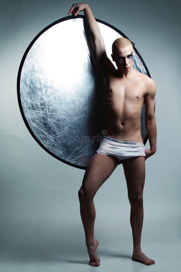 Danseur mâle beau photographie stock libre de droits