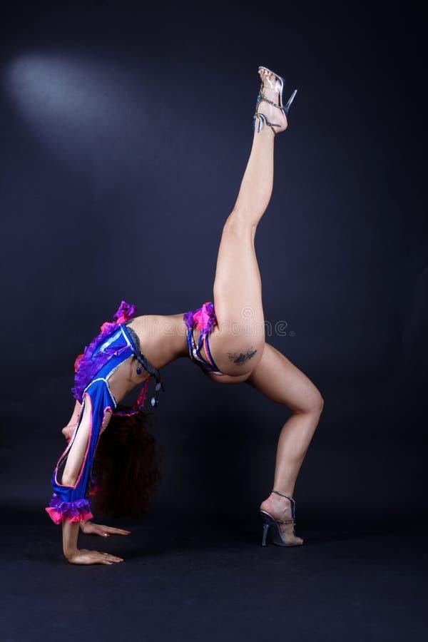 Danseur moderne dans l'action image libre de droits