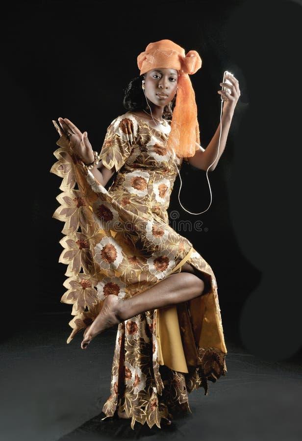 Danseur nigérien - IYABO images libres de droits