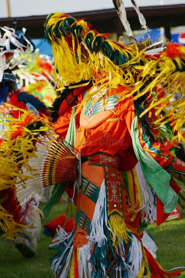 Danseur oriental de Powwow de Shoshone image stock