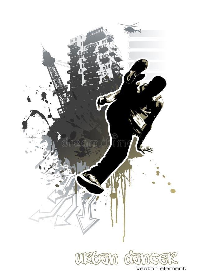 Danseur urbain illustration libre de droits