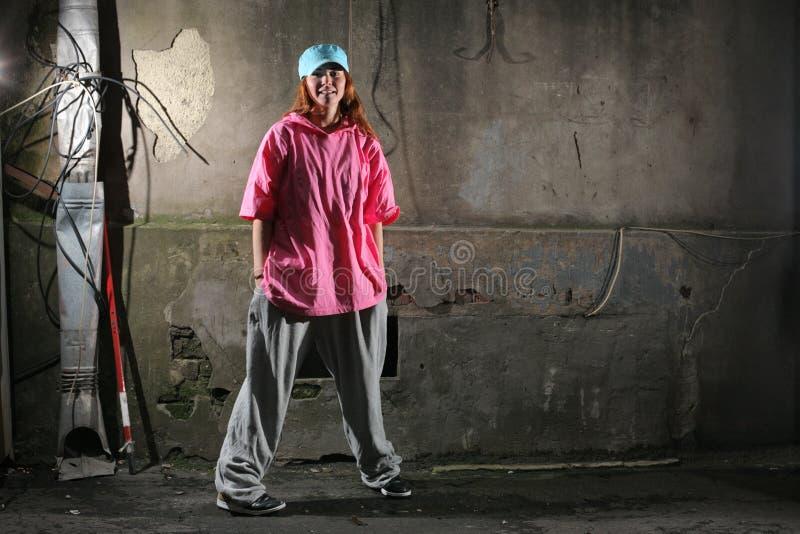 danseur urbain image libre de droits