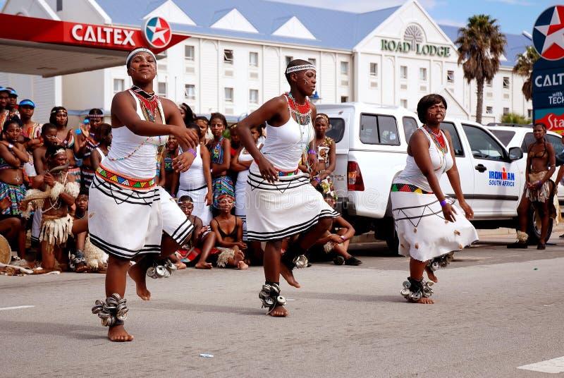 Danseurs africains photographie stock