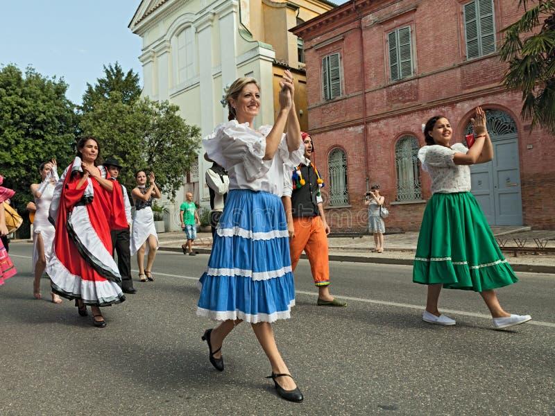 Danseurs argentins images stock