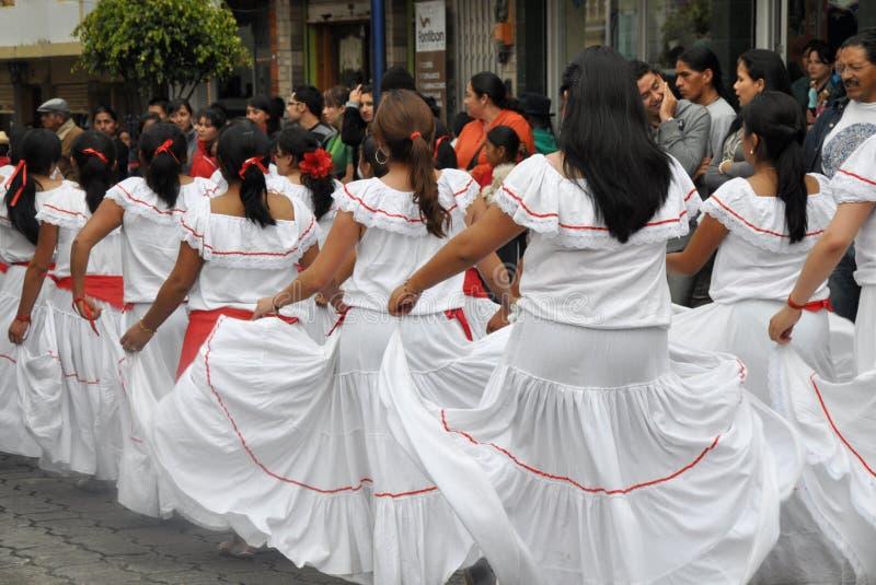 Danseurs d'Ecuadorian photo stock