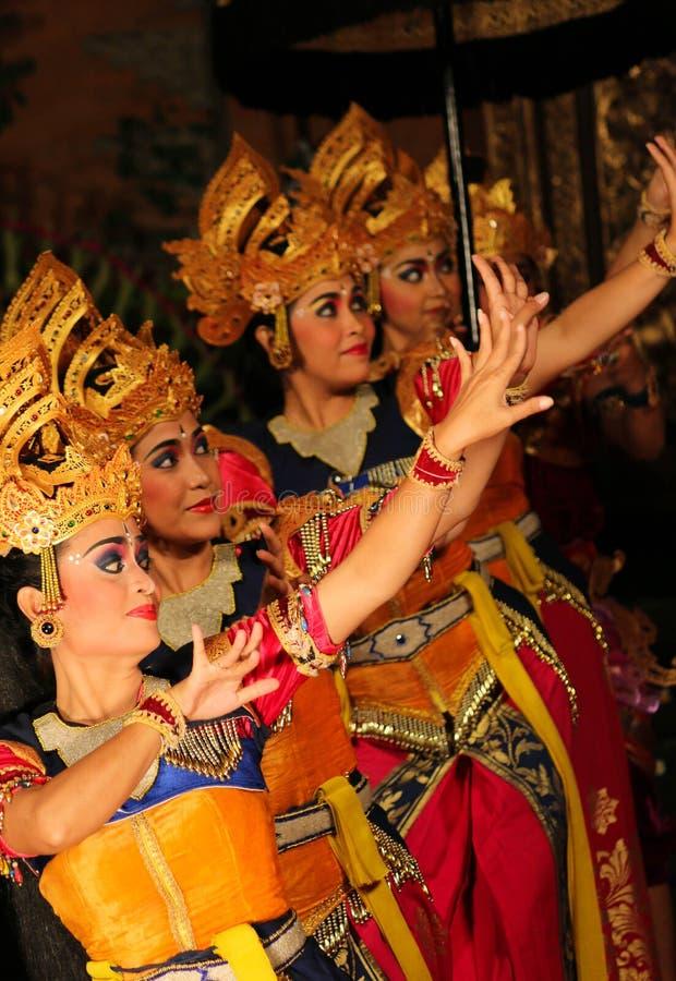 Danseurs de Balinese photo libre de droits