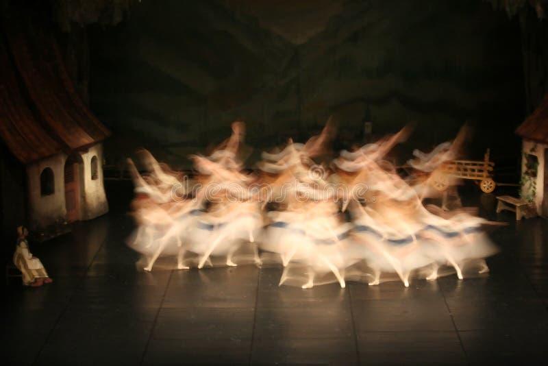 Danseurs de ballet image libre de droits