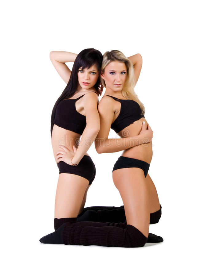 Danseurs de ballet moderne photo libre de droits