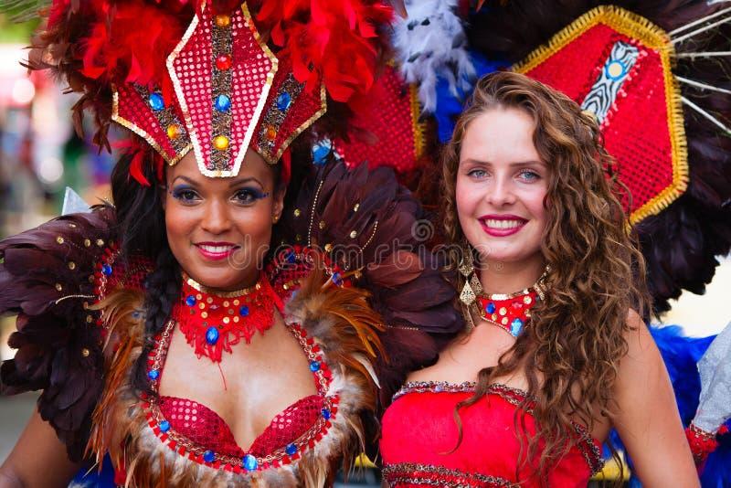 Danseurs de carnaval photo stock