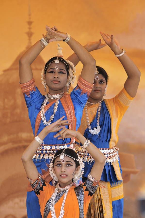 Danseurs de l'Inde photo stock
