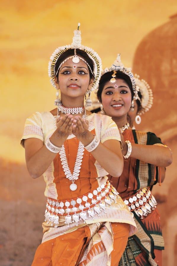 Danseurs de l'Inde image libre de droits