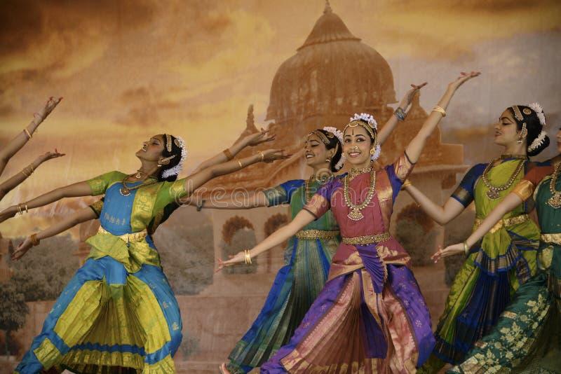 Danseurs de l'Inde photo libre de droits