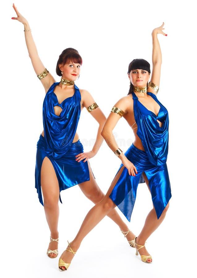 Danseurs de samba photographie stock libre de droits