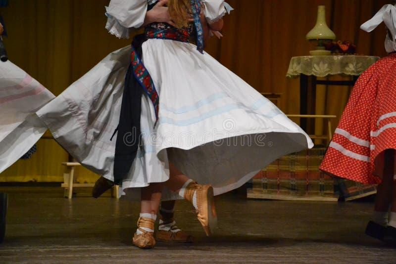 Danseurs de tradition photo stock