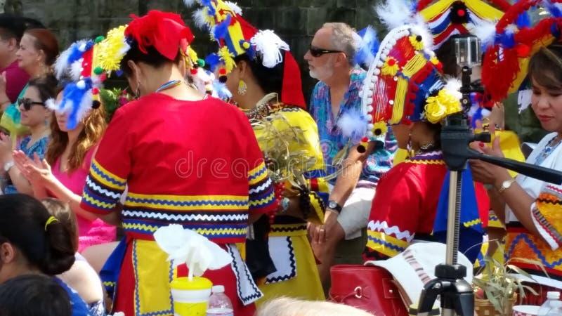 Danseurs ethniques images stock