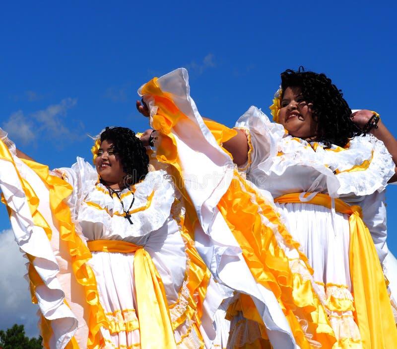 Danseurs folkloriques d'Amérique centrale photo libre de droits