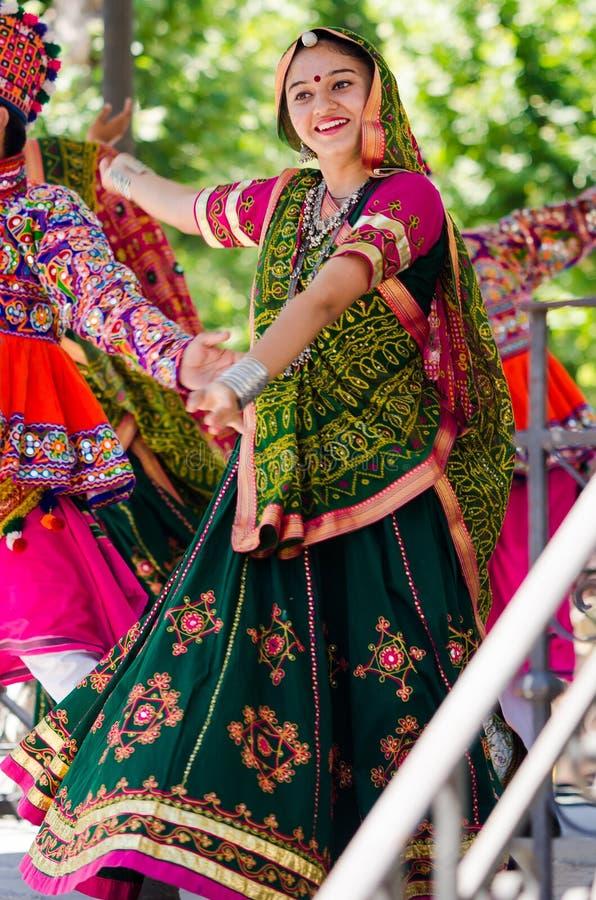 Danseurs indiens photo stock