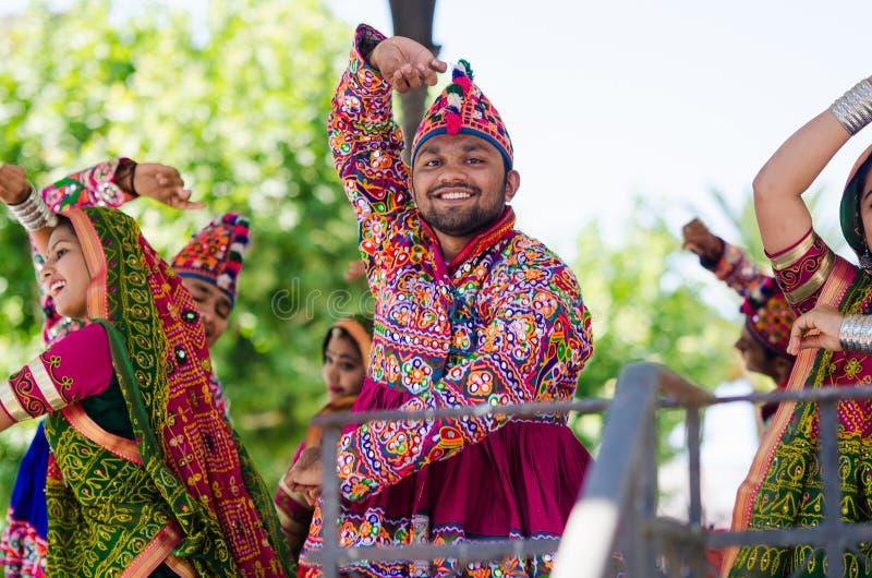 Danseurs indiens photos stock
