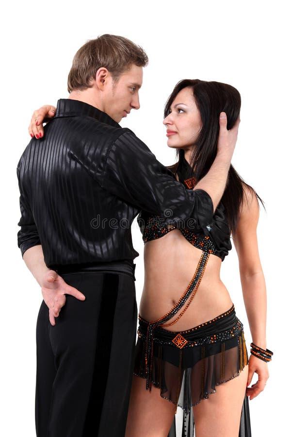 Danseurs latins photo stock