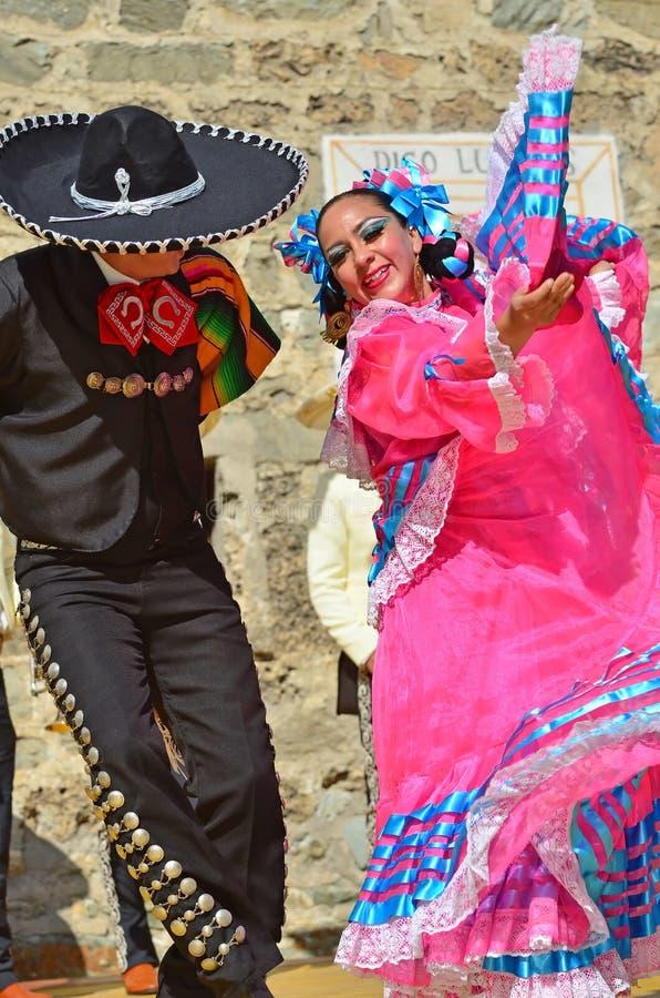 Danseurs mexicains images stock