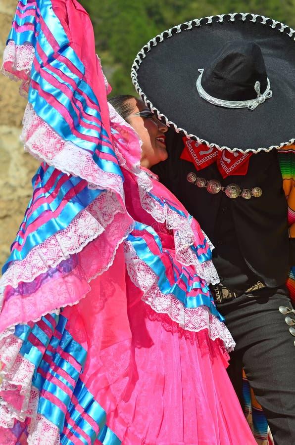Danseurs mexicains photo libre de droits