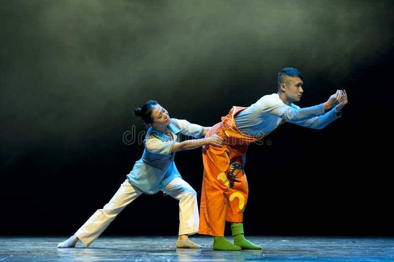 Danseurs modernes chinois photographie stock libre de droits