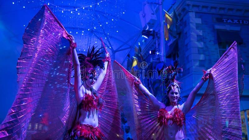 Danseurs sexy de carnaval photographie stock libre de droits