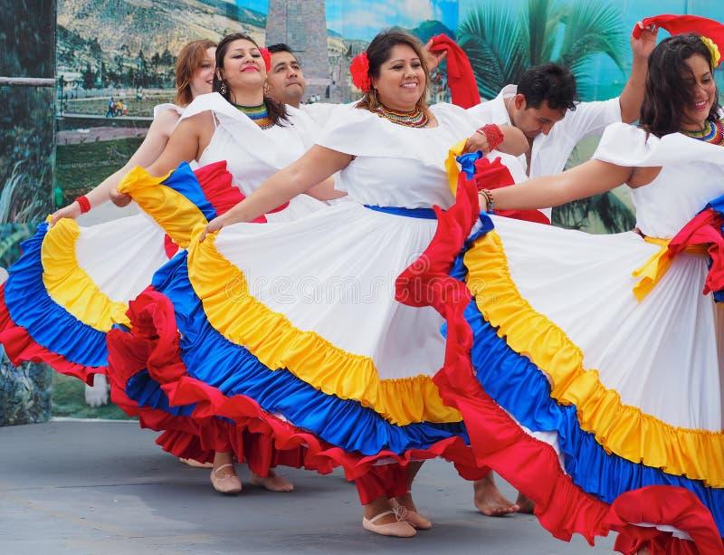 Danseurs sud-américains photographie stock