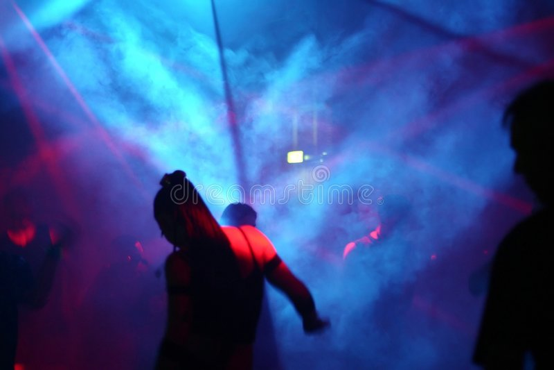 dansfolk fotografering för bildbyråer