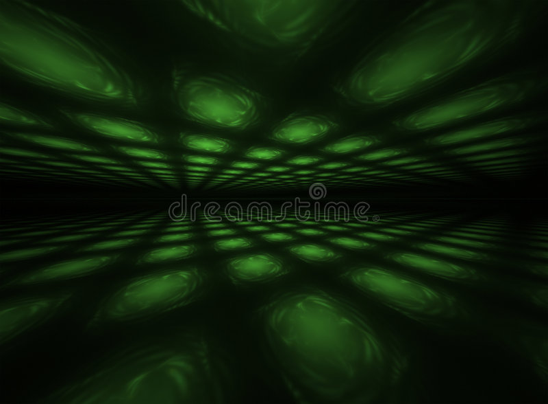 dansgolvlampor stock illustrationer