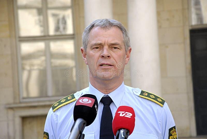 danska poliser royaltyfri foto