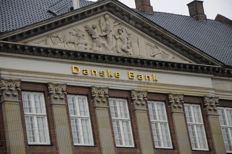 Danske bank. Copenhagen / Denmark_ 25.January 2017 - Denmark`s largest danske bank headoffice building. Photo. Francis Joseph Dean/Deanpictures royalty free stock images