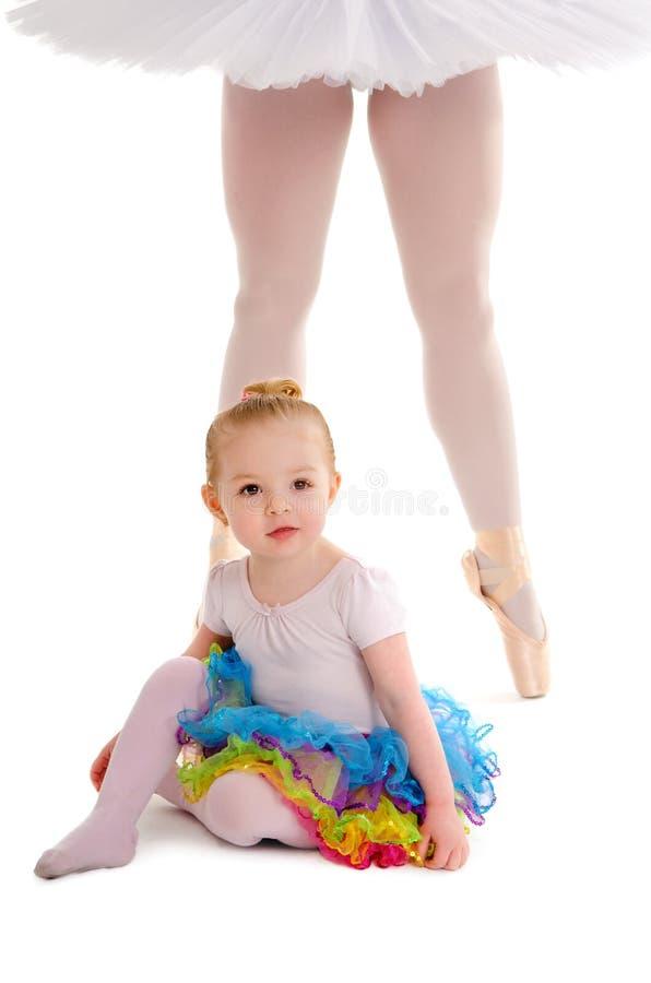Danskind met Ballerinabenen royalty-vrije stock foto