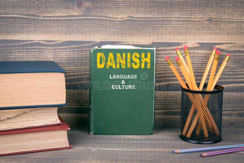 Danskt språk och kulturbegrepp fotografering för bildbyråer