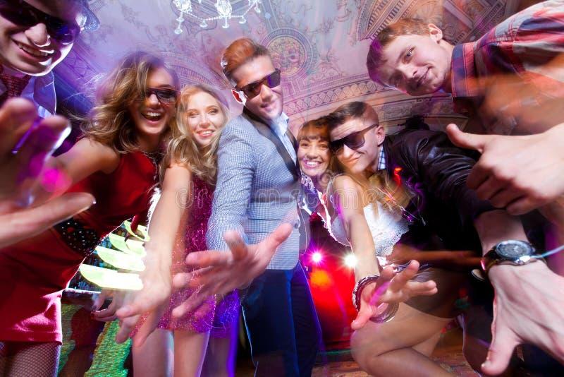 Danspartij royalty-vrije stock fotografie