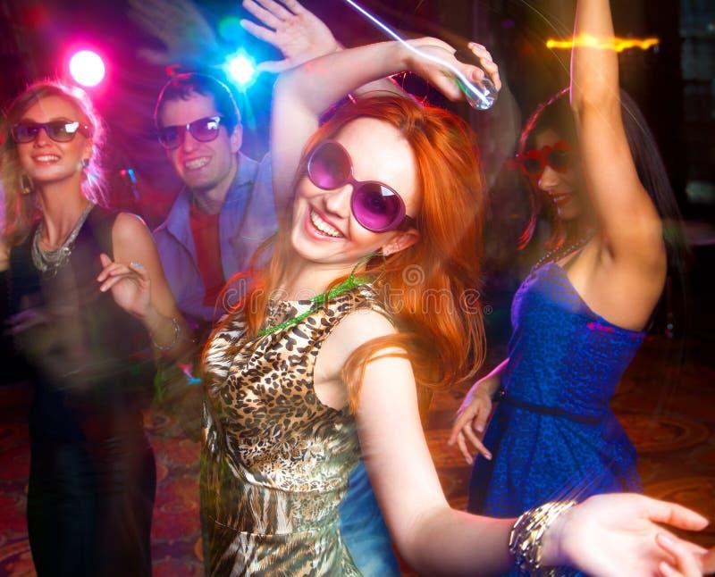 Danspartij stock fotografie