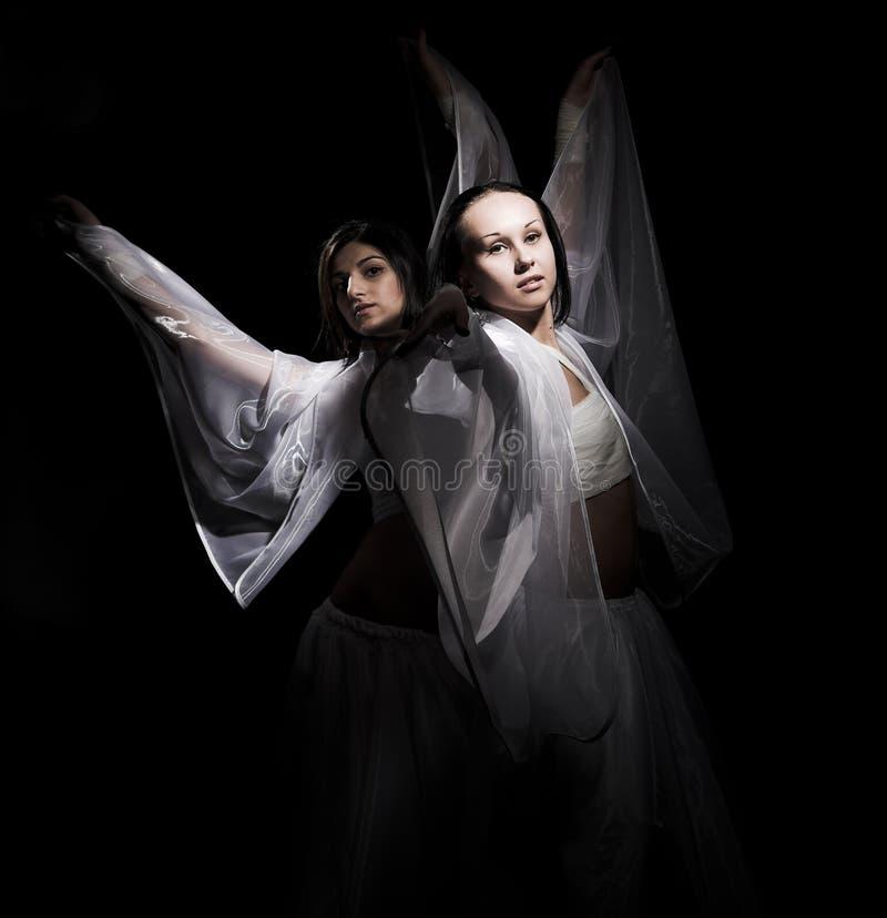 danssemidarkness fotografering för bildbyråer