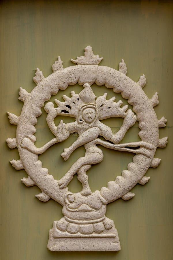 Dansshiva, natraj royaltyfria bilder