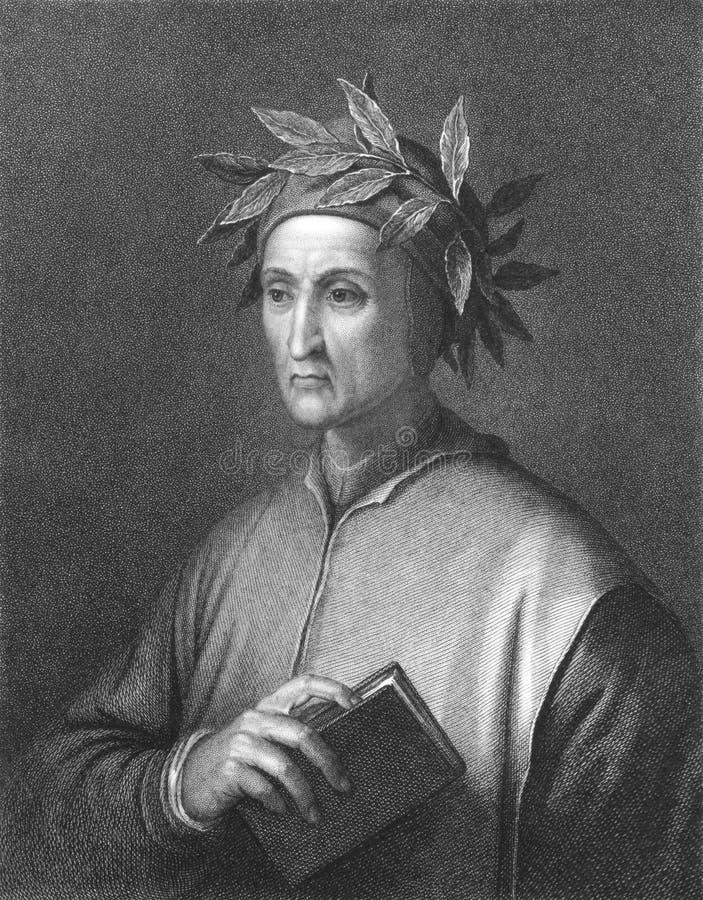 Dante royalty-vrije stock fotografie