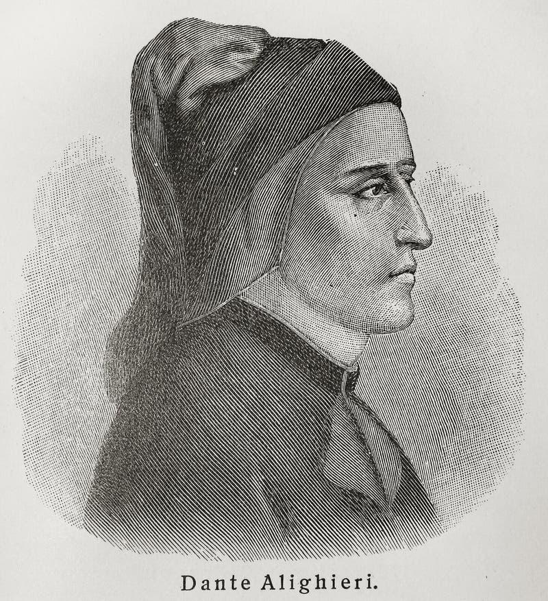 Dante Alighieri royalty-vrije stock fotografie
