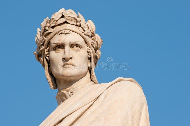 Dante Alighieri Florence stock afbeelding