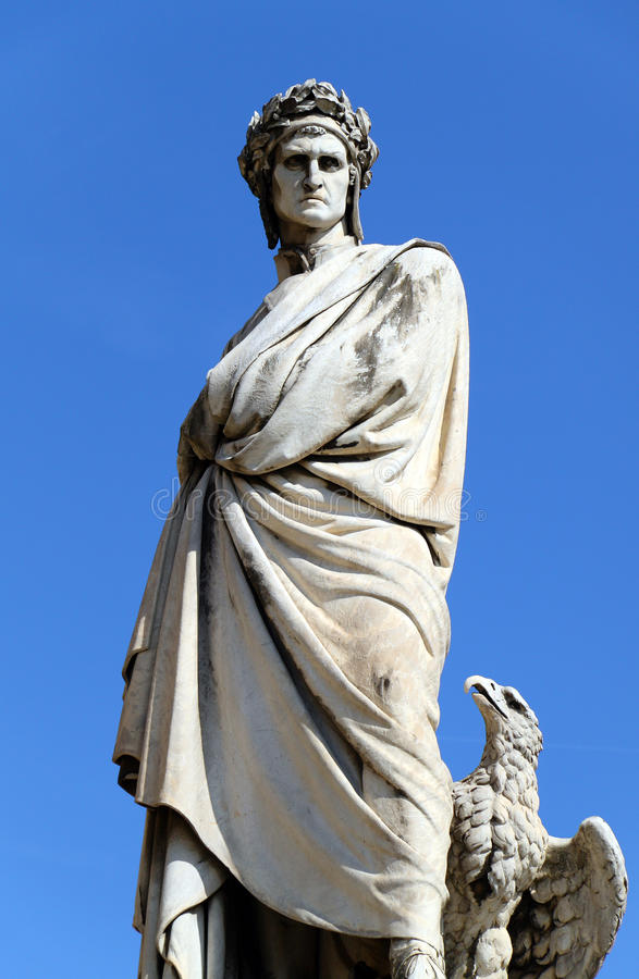 Free Dante Alighieri S Statue Royalty Free Stock Images - 11407039