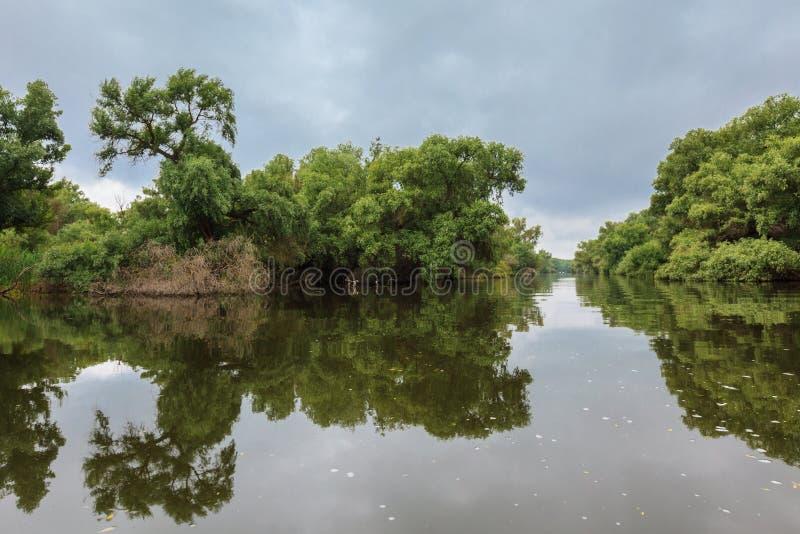 Danube Delta, Romania stock photo