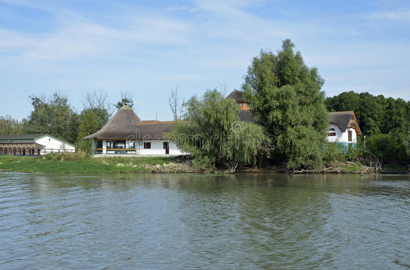 Danube delty willa zdjęcie royalty free